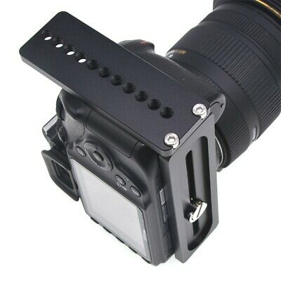AU18.60 • Buy 1x L Bracket Universal Quick Release Plate For Arca Swiss DSLR Camera