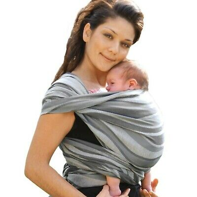 Didymos Waves Baby Wrap Sling (Size 7, Silver) • 211.61£