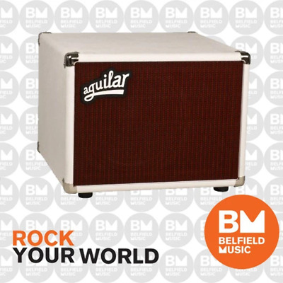 AU1269 • Buy Aguilar DB 112 Bass Guitar Cabinet 1x12inch NO TWEETER Cab White - Brand New