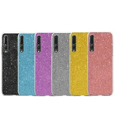 For Huawei P40 Lite P Smart Y6 Y7 2019 Glitter Crystal Case Soft Silicone Cover • 2.25£