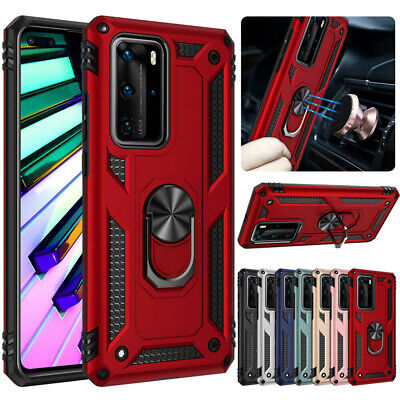 Hybrid Shockproof Cover Hard Armor Case For Huawei P30 Pro P40 Lite Y7 Y6 2019 • 3.49£