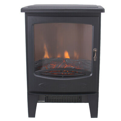 1800W Electric Fireplace Stove Heater Log Burning Flame Effect Living Room • 76.90£