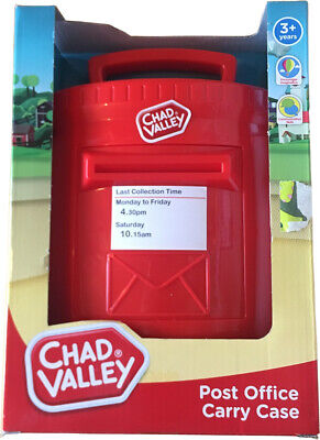 £9.99 • Buy Chad Valley Post Office Carry Case Complete Playset Kids Fun Toy Gift Xmas