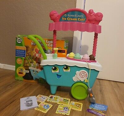 Scoop And Learn Ice Cream Cart. Leap Frog Great Condition • 34.99£