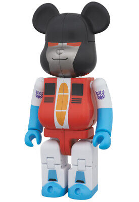 $99.99 • Buy Medicom Bearbrick X Transformer STARSCREAM 200% New In Box Be@rbrick Figure Xmas