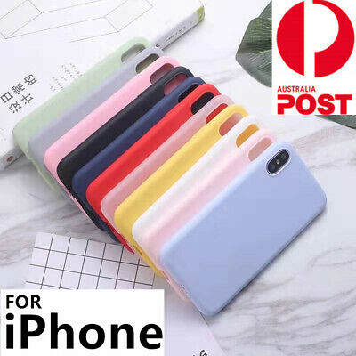 AU6.99 • Buy Thin Soft Silicone Case Cover For Apple IPhone 12 Pro Max XS XR 8 7 SE2 6s Plus