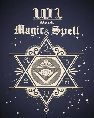 101 Magic Spell Book: Of Shadows / Grimoire Witchcraft Witch Spells Journal • 5.72£
