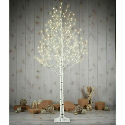 7ft Christmas Lit Up Birch Twig Tree With 280 LED Lights Indoor Xmas Decoration • 119.99£