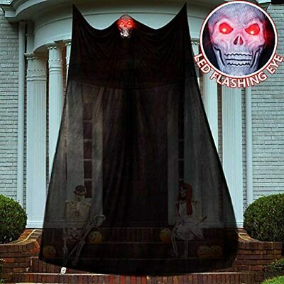 $ CDN15.98 • Buy Hhobby Stars Halloween Decorations, Scary Hanging Ghost LED Glowing Eyes, Indoor