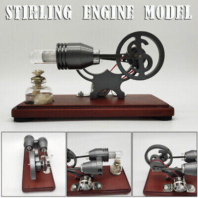 Hot Air Stirling Engine Motor Model Power Generator Education Toy Sterling  O • 35.13£