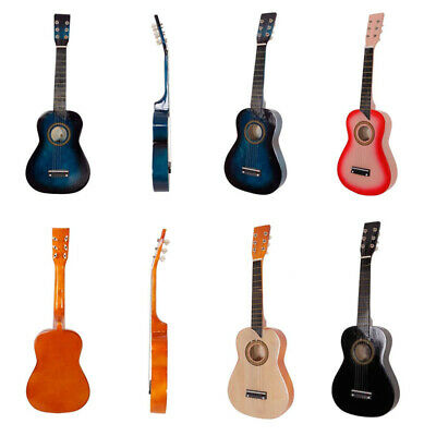 25  Childrens Kids Wooden Acoustic Guitar Musical Instrument Child Toy Xmas Gift • 21.01£