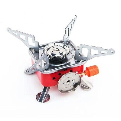 £17.43 • Buy Gas Burner Camping Stove Tourist Equipment Lighter Outdoor Cooker Kitchen Stove
