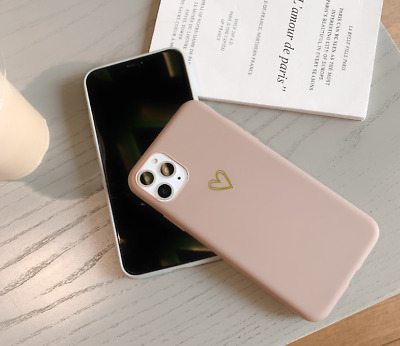 AU6.99 • Buy For IPhone 12 11 Pro Max XS XR 7 8 Plus Cute Love Heart Silicone Soft Case Cover