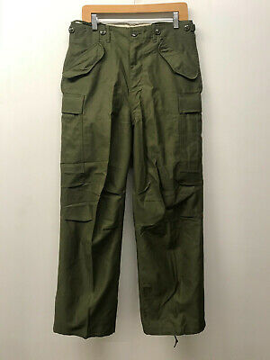 $180 • Buy NOS M51 OD Field Trousers Pants Shell SMALL/REGULAR M1951 P-13