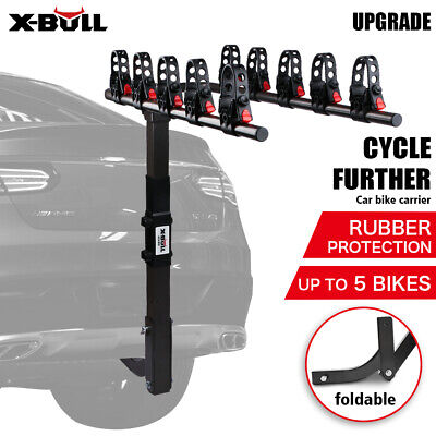 AU125 • Buy X-BULL 5 Bike Rack Bicycle Carrier Steel TowBar 2 Hitch Mount Foldable Car Rear