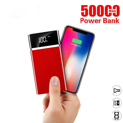 AU46.48 • Buy Power Bank 50000 MAh Portable Phone Charger Outdoor Travel USB