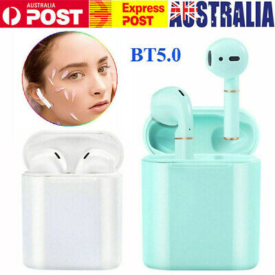 AU22.39 • Buy TWS Headphones Bluetooth 5.0 Wireless Touch Earphone-Ear-pods For IPhone/Huawei