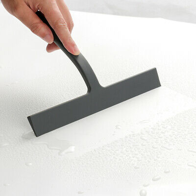 Silicone Blade Holder Shower Screen Squeegee Glass Window Cleaning Bathroom • 11.95£