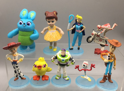 £8.98 • Buy 9pcs Disney Toy Story Play Action Figure Buzz Light Year Woody Party Cake Topper