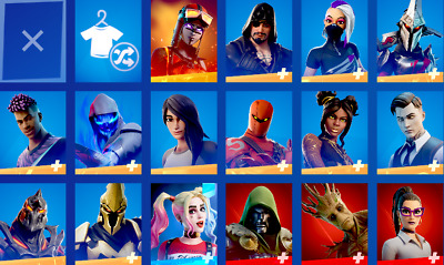$ CDN174.97 • Buy Fortnite 77 Skins Account(FULL ACCESS + SHADOW SERIES + ITEM SHOP CODE With 20$)