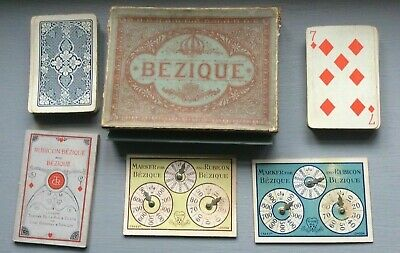 Boxed Game Of Bezique Complete With Score Cards And Book Of Rules By Goodalls  • 13.95£