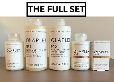 AU197 • Buy OLAPLEX No.3/No.4/No.5/No.6/No.7 Perfector Shampoo Conditioner Smoother Oil