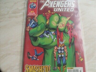 £4 • Buy MARVEL COLLECTORS EDITION THE AVENGERS UNITED, SMASHED No33