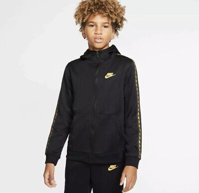 Nike  Boys Hoodie Full Zip Track Top Extra Large 12-14 Years Brand NewAv8387-011 • 25.99£