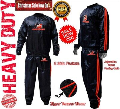 AU33.93 • Buy Best Sauna Sweat Suit To Lose Weight Exercise Body Shape Workout For Men Women