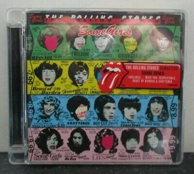 THE ROLLING STONES ~ Some Girls ~ CD ALBUM REMASTERED • 9.44£