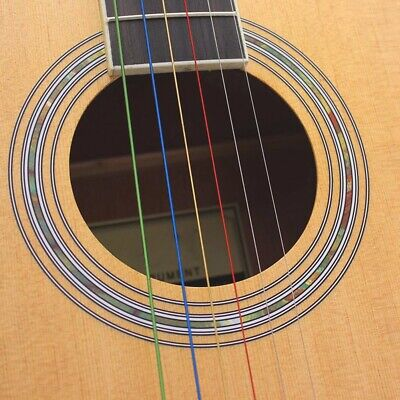 $ CDN7.02 • Buy Colored Nylon Guitar Strings Full Individual Plastic Package Guitar String For