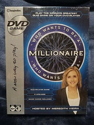 £19.16 • Buy Who Wants To Be A Millionaire? - Interactive DVD Game (DVD, 2008) NEW Sealed