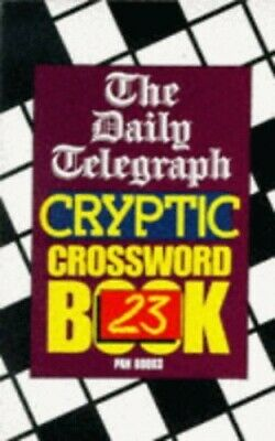 £25.99 • Buy Daily Telegraph  Cryptic Crossword Book 23:... By Telegraph Group Limi Paperback