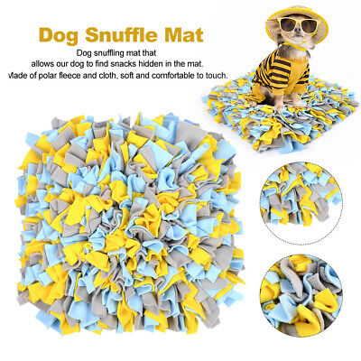 AU23.47 • Buy Dog Snuffle Mat Foraging Skill Sniffing Pad Smell Nose Work Home Pet Toys Woven