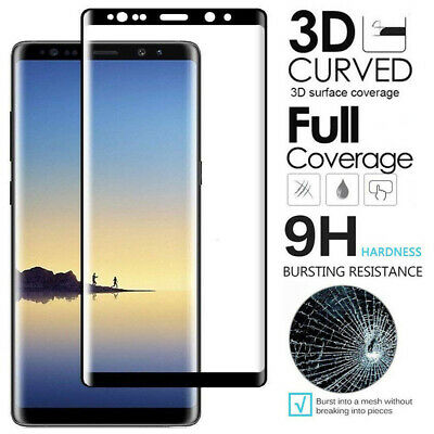 $ CDN5.04 • Buy 2 Pack Samsung Galaxy Note 9 Note 8 FULL COVER Tempered Glass Screen Protector