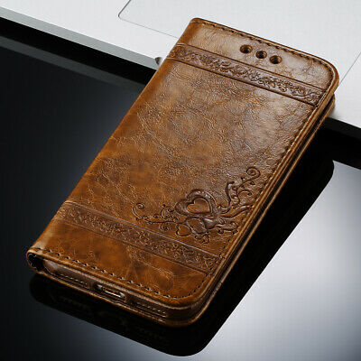 AU11.99 • Buy IPhone 11 12 Pro XS Max XR X 8 7 Leather Magnetic Flip Wallet Case Cover Stand