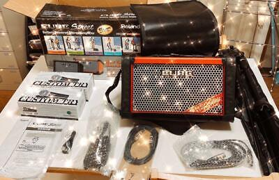 AU998.34 • Buy Roland CUBE STREET RED Performance Amplifier CUSTOMTRY CM-2000 And Other Sets