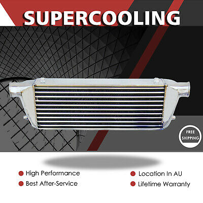 AU810 • Buy Front Mount Aluminum Intercooler For Ford Falcon BA BF XR6 Typhoon F6 FPV G6ET