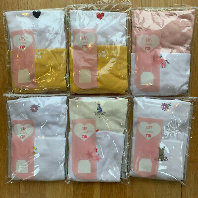£4.75 • Buy Girls Pack Of 2 Mothercare Camisole Vests Top Baby Age 1 - 9 Years