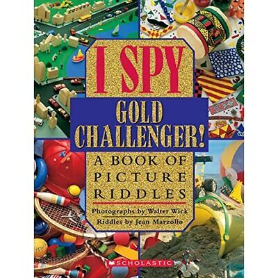 I Spy Gold Challenger: A Book Of Picture Riddles (I Spy - HardBack NEW Marzollo, • 13.13£