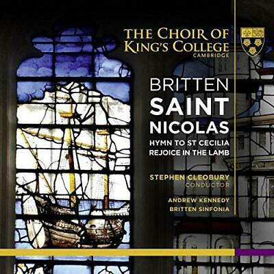 £8.24 • Buy The Choir Of Kings College Cambridge Sinfonia Kennedy Cleobury - Britte (NEW CD)