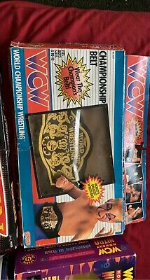 $ CDN224.95 • Buy Wcw 1991 Galoob Championship Belt With Box