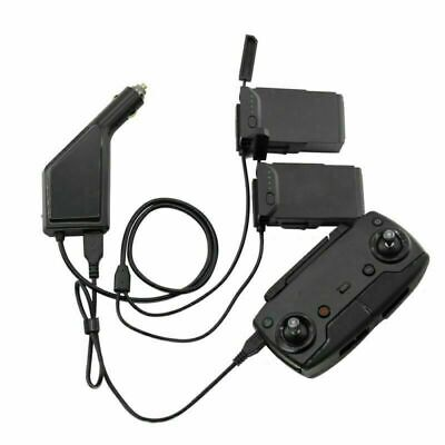 AU23.21 • Buy For DJI Mavic Air Car Charger Flight Batteries Remote Control Charger Cable