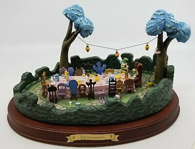 $ CDN369.69 • Buy WDCC Enchanted Places - Mad Tea Party & White Rabbit
