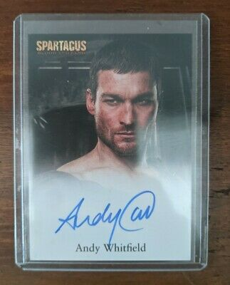 £1070.36 • Buy Rare 2009 Spartacus Blood And Sand Andy Whitfield Autograph Imaculate