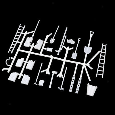 DIY Accessories Body Oil Tank Ladder Bucket For 1/16 WPL 6WD 4WD RC Trucks • 6.63£