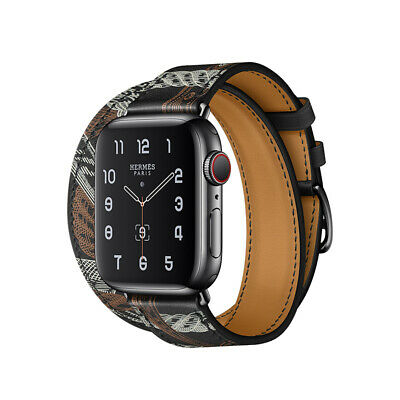 AU19.99 • Buy  Fashion Black Leather Watch Band Starp For Apple Watch Series 6 5 4 3 2 Se