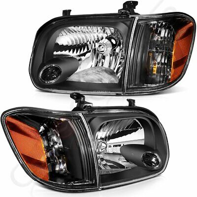 $147.89 • Buy Fits 2005-2006 Toyota Tundra 05-07 Sequoia Headlights Assembly Replace Headlamps