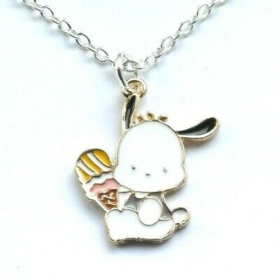 £3.99 • Buy Cute Pochacco My Melody Charm Necklace Hello Kitty In Gift Bag Sanrio Japanese