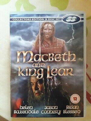 £3.99 • Buy 2 Disc Set Macbeth & King Lear  Jason Connery Helen Baxendale Brian Blessed Dvd